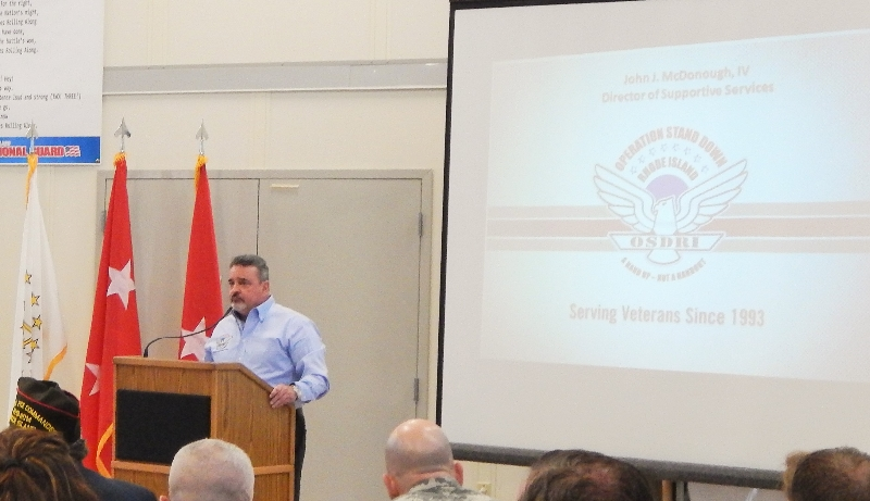 Sentor Whitehouse's 7th Annual Veterans Breakfast