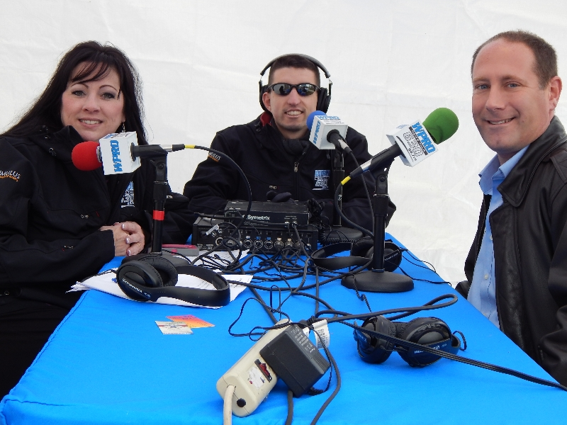 OSDRI Executive Director Wallin w/ WPRO