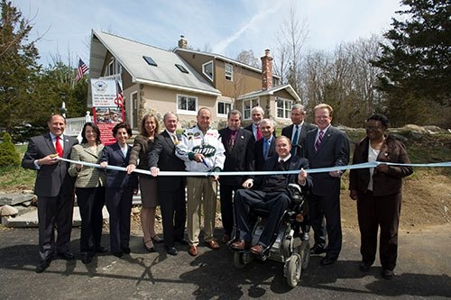 Ribbon Cutting at New Johnston Veteran Home