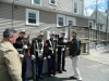 Tony DeQuattro Greets Marine Honor Guard