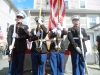 Honor Guard at St. Germain Home Dedication