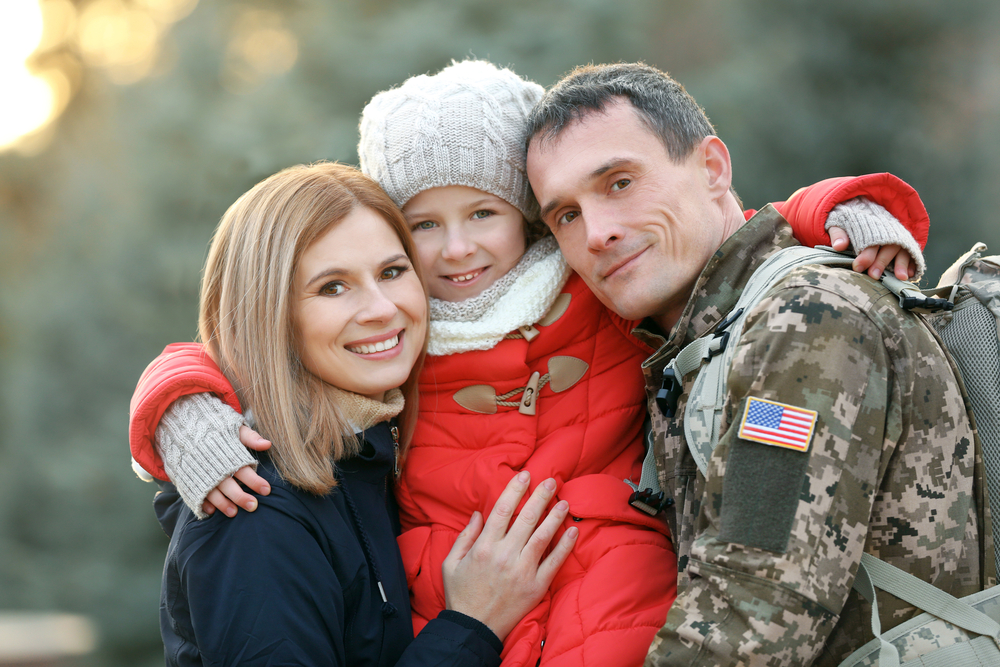 <b>Who We Serve</b><br> Active Duty Military Personnel, National Guard, Reservists, Veterans and Military Families.